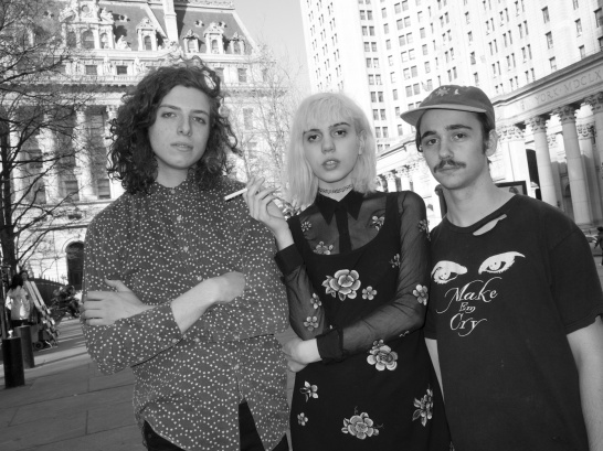 2014_04_21 Sunflower Bean band in Lower Manhattan.