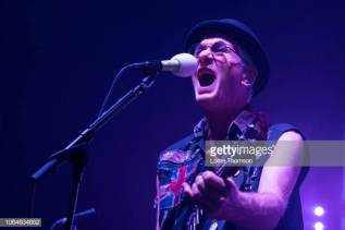 LONDON, ENGLAND - NOVEMBER 23: Captain Sensible of The Damned performs at the O2 Shepherd's Bush Empire on November 23, 2018 in London, England. (Photo by Lorne Thomson/Redferns)